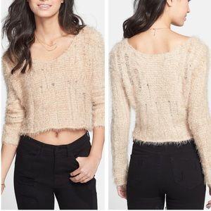 NWT BP Cropped Fuzzy Sweater Sz XS ::J3